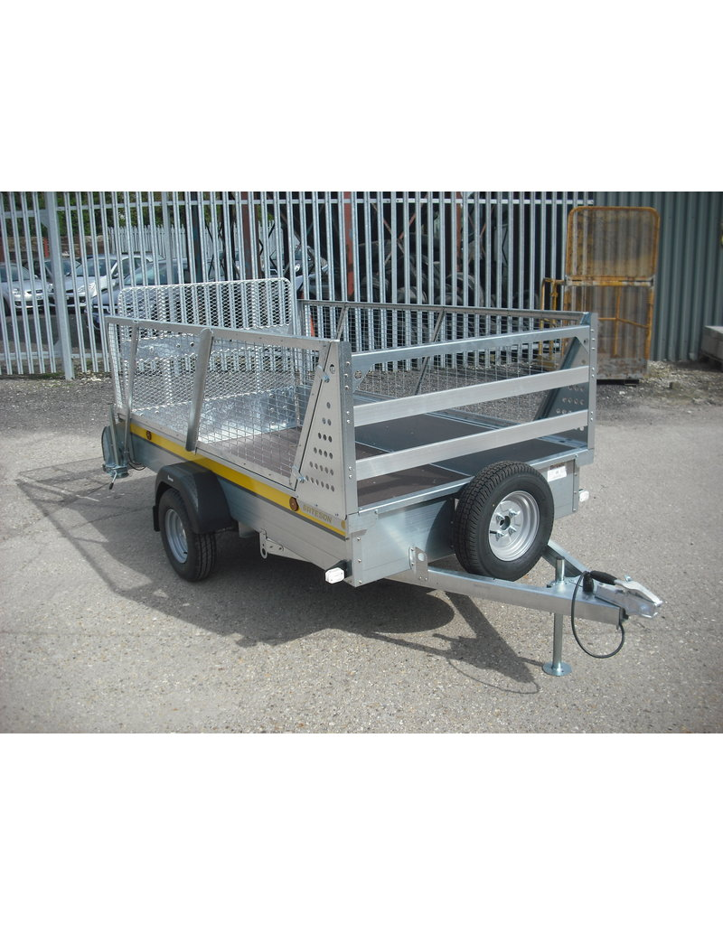 Batesons B84 Batesons Trailer, Mesh Sides, Spare Wheel, Prop Stands | Fieldfare Trailer Centre