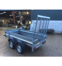 Used Brenderup 2260 Unbraked Twin Axle Goods Trailer