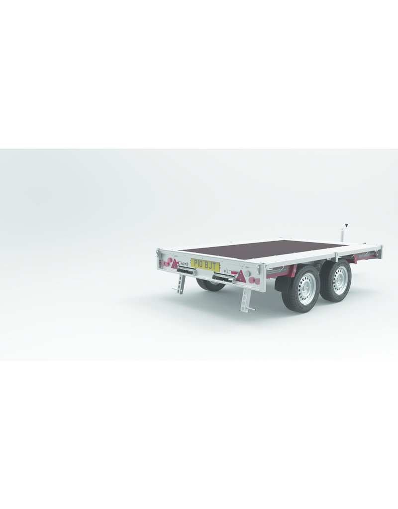 Brian James 470-1221 Connect Compact  2.8m x 1.88  13 inch  Wheels  2600KG Twin Axle | Fieldfare Trailer Centre