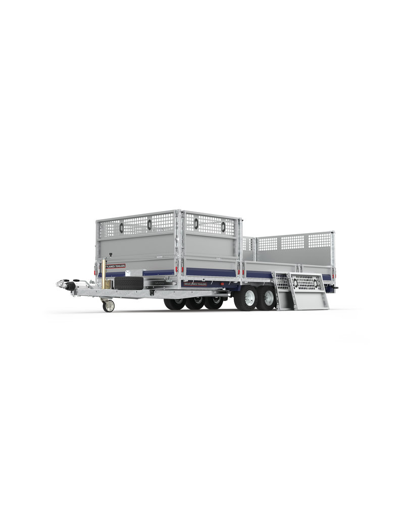 Brian James 475-5442 Cargo Connect 5m x 2.1m Twin-Axle 12 inch  Wheels