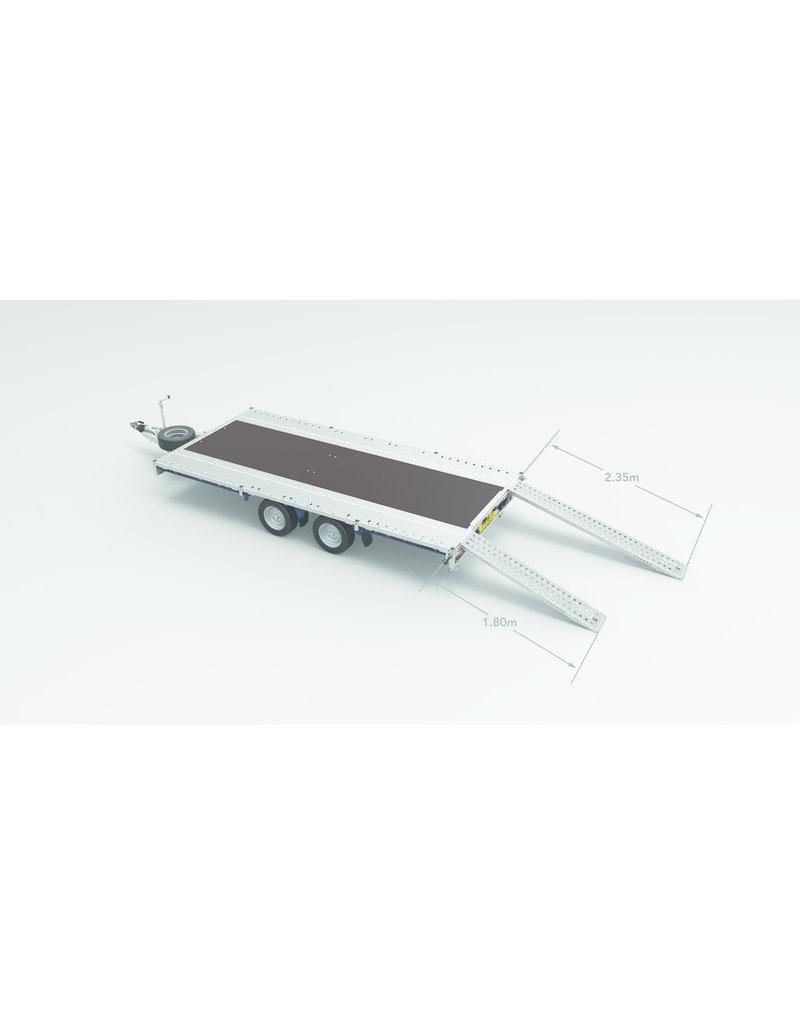 475-4442 Cargo Connect 4.5m x 2.1m Twin-Axle 12 inch  Wheels | Fieldfare Trailer Centre