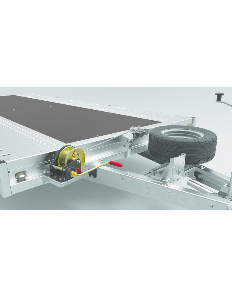 Brian James 475-6453 Connect 5.5m x 2.25m Tri- Axle 10 inch  Wheels | Fieldfare Trailer Centre