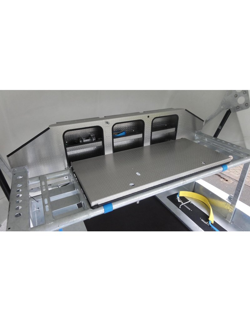 Brian James Race Shuttle 3 Vehicle Transporter | Fieldfare Trailer Centre