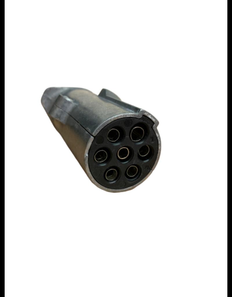 24N 7 Pin Aluminium Plug