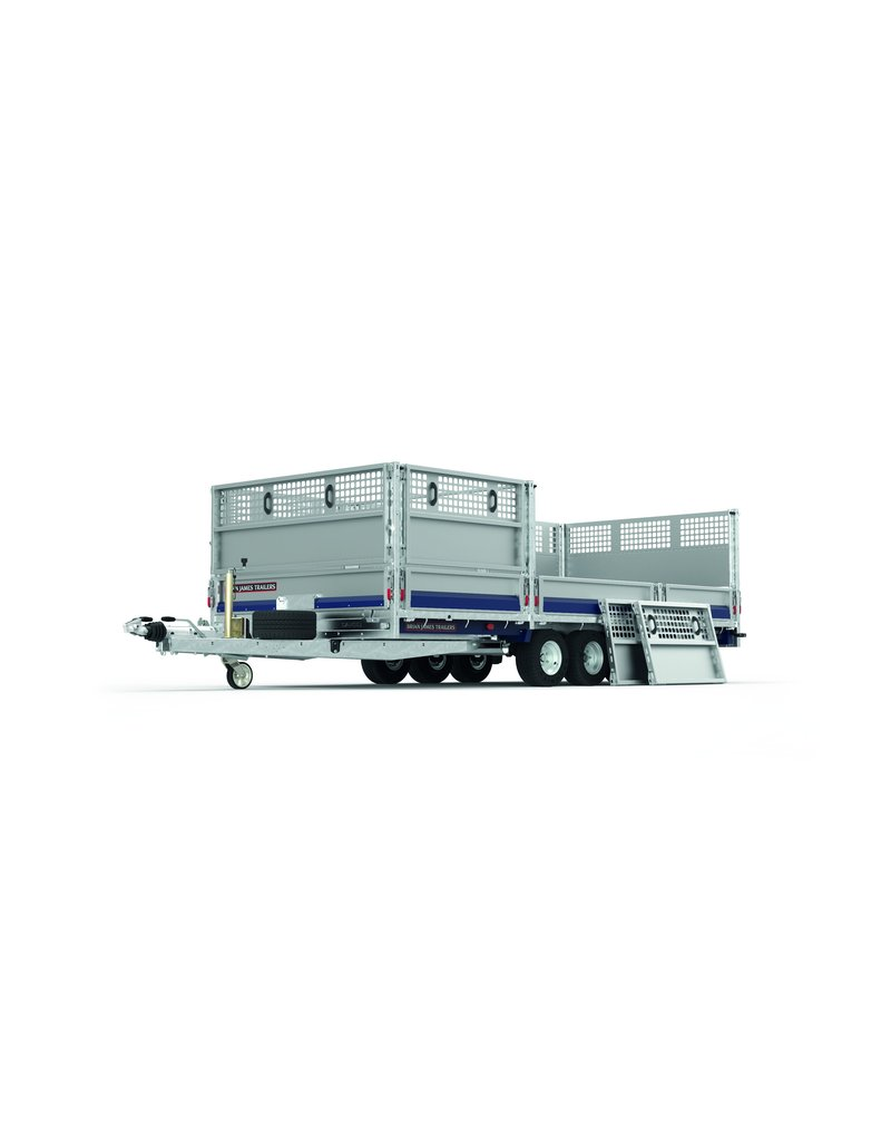 Brian James Brian James 475-6452 Cargo Connect 5.5m x 2.1m Trailer| Fieldfare Trailer Centre