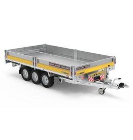 Brian James 525-4322 Cargo Tipper 2 4m x 2.05m 3500kg GVW Tri-Axle - Barn Doors