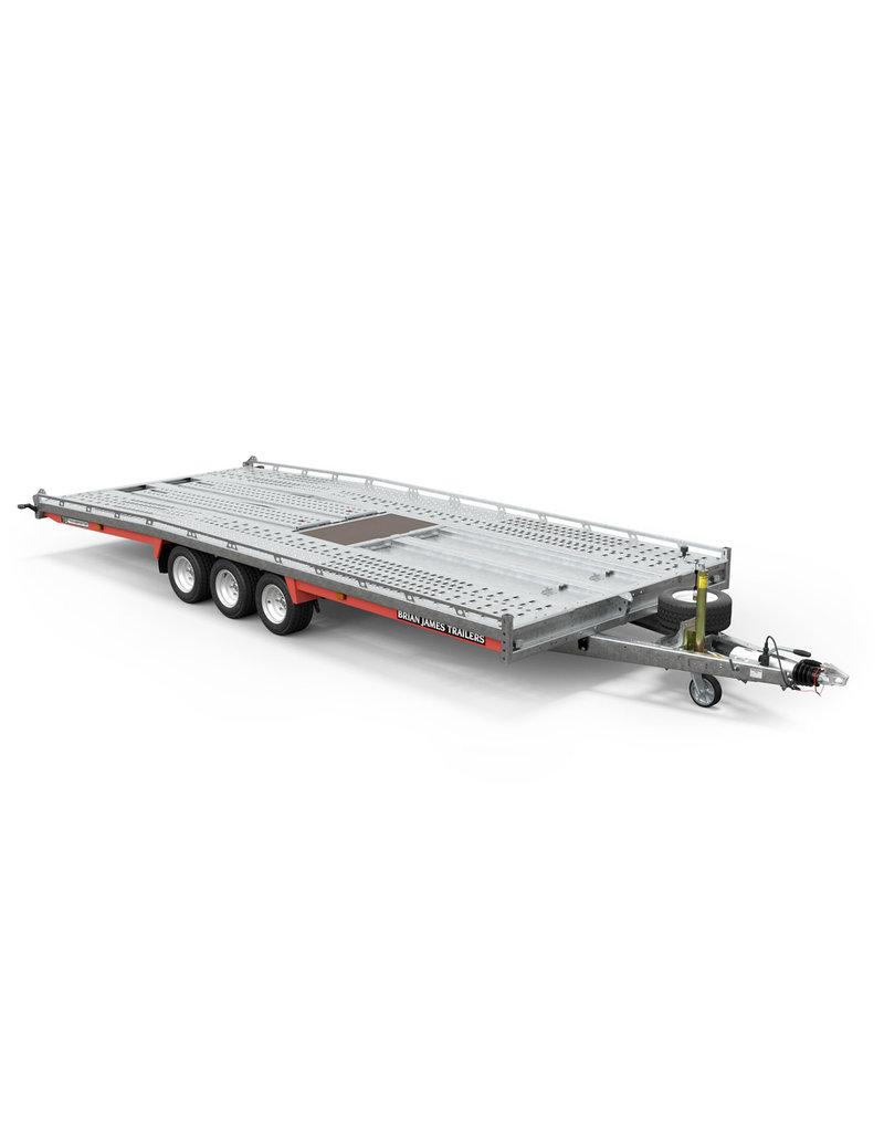Brian James Brian James 230-6452 T6 Transporter 5.5m x 2.07m Tri-Axle 10 inch  Wheels Trailer| Fieldfare Trailer Centre
