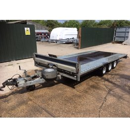 """Used Brian James Cargo Connect Trailer 4.5m x 2.13 Tri-Axle on 10"""" Alloy Wheels"""