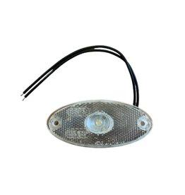 Slim Line Oval LED Front Marker Lamp