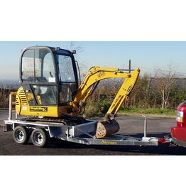 Batesons Bateson 20MD Excavator Trailer From