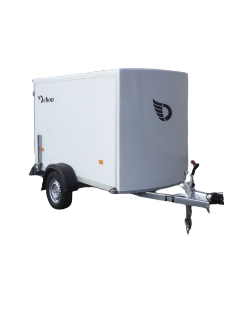 Debon Debon C255 Single Axle-Plywood Body in White 1.3t GVW