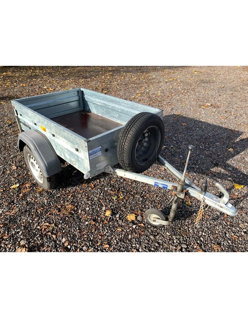 Ex Hire Brenderup 1150S Camping Trailer with Flat Cover