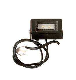 Aspock LED Number Plate Lamp to suit BJT trailer