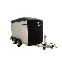 Debon Debon Roadster C500- Alu Sides in Black 2.6t GVW c/w Spare Wheel and Carrier