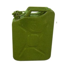 Green Metal 20 Litre Jerry Can