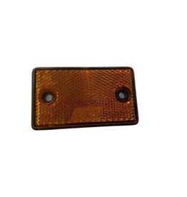 Amber Rectangular Reflector 77 x 46mm