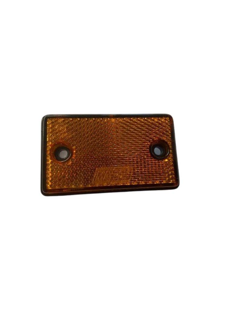 Amber Rectangular Reflector 90 x 38mm   Fieldfare Trailer Centre