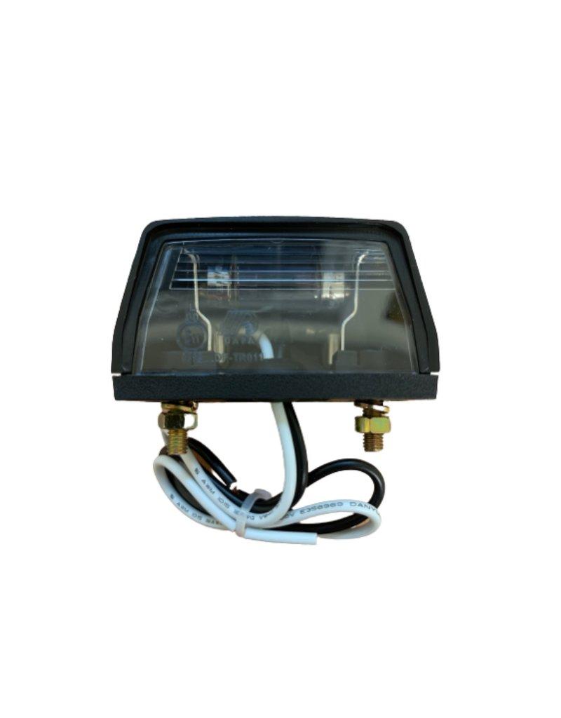BRITAX Number Trailer Plate Lamp | Fieldfare Trailer Centre