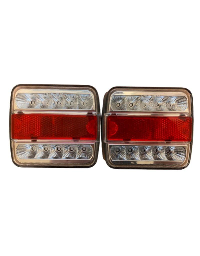 Pair of GWAZA Trailer Rear Light 12V LED 15007 | Fieldfare Trailer Centre
