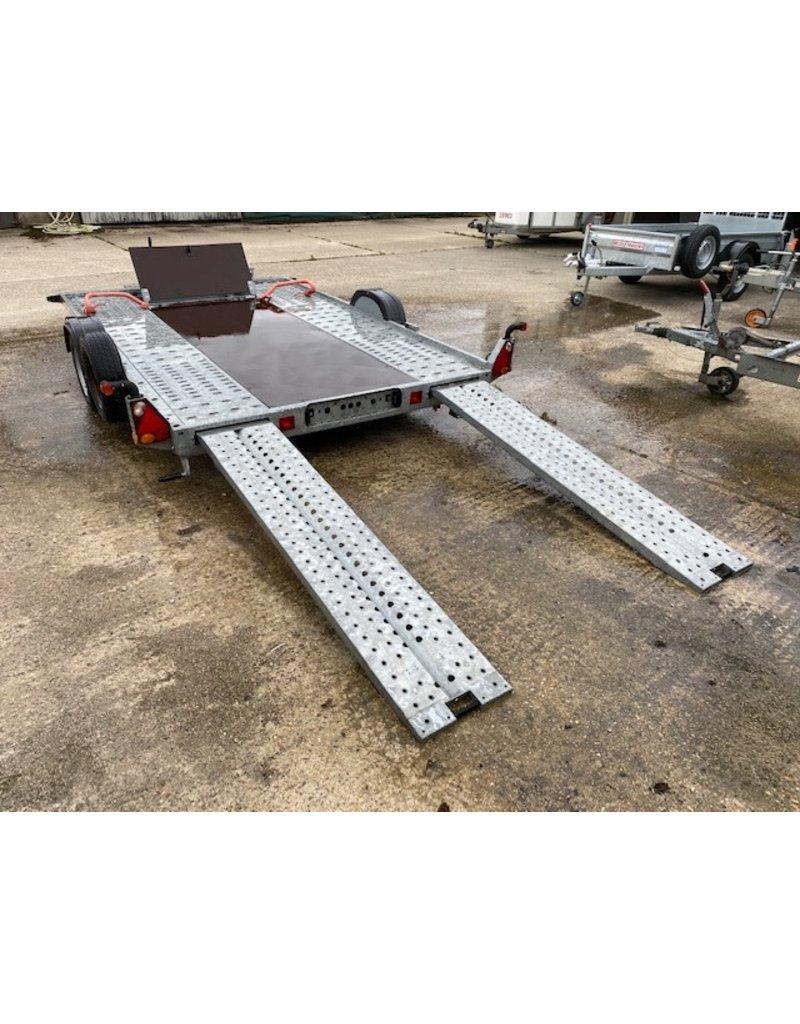 Used Brian James A2 Car Transporter Trailer 3.2m x 2m - 150kg GVW