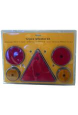 12 Piece Reflector Kit