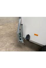 Debon Debon C255 in White - Plywood  Sides + Side Door 1.3t GVW c/w Spare Wheel & Prop Stands