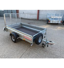 Wessex UBGT74 Fitted with Ramp Tailgate & Spare Wheel