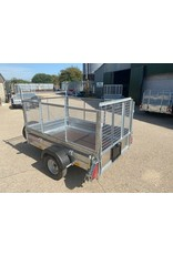 Wessex UBGT64 Fitted with Mesh Sides, Ramp Tailgate & Spare Wheel