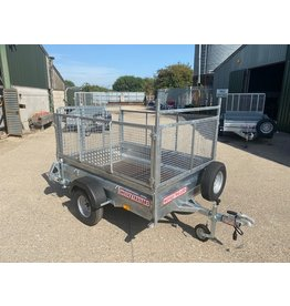 Wessex UBGT64 Fitted with Mesh Sides, Ramp Tailgate, Prop Stands & Spare Wheel