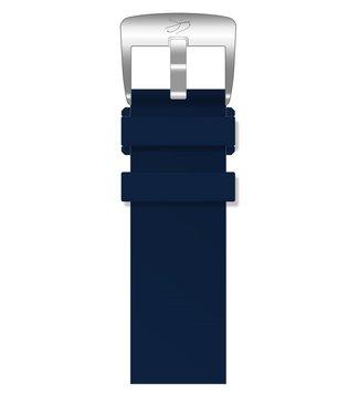 SYMONS & PANCHENKO Ремешок Master Silver Series Dark Blue Marine
