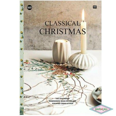 Rico Rico borduurboek classical christmas 160