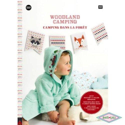 Rico Rico borduurboek woodland camping 159