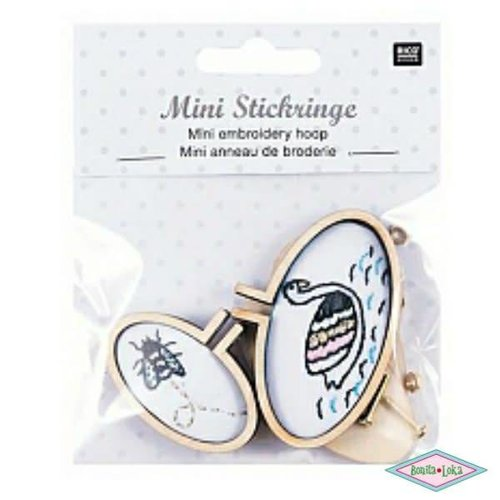 Rico Rico Mini borduurring ovaal liggend S/M