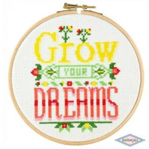 DMC Stitchonomy Grow Your Dreams