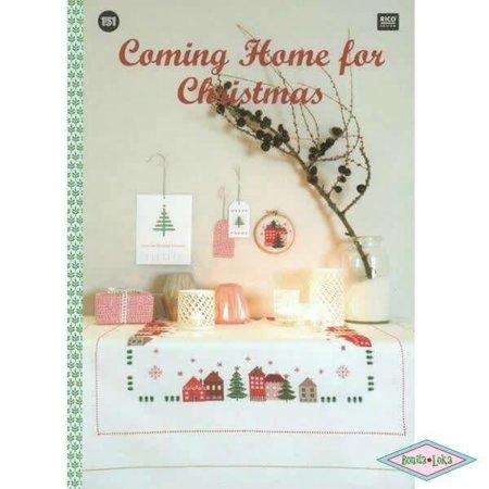 Rico Rico 151 Borduurboek Coming Home for Christmas