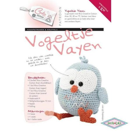 Cute Dutch vogeltje Vayen