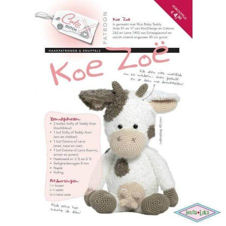 Cute Dutch koe Zoe