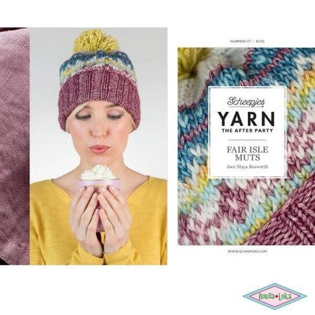 Yarn the afterparty 7 Fair Isle muts
