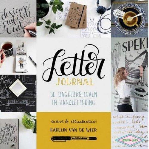 Letter Journal je dagelijks leven in handlettering