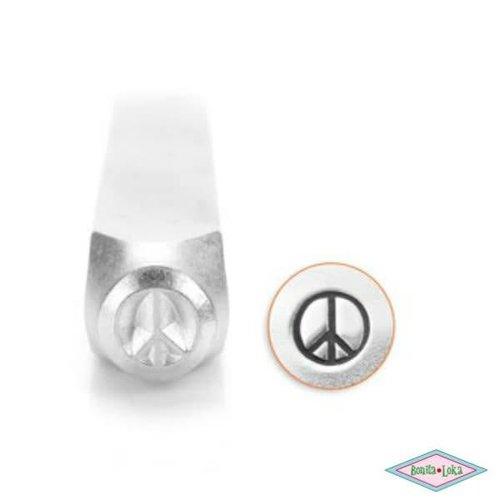 ImpressArt Slagstempel Peace 6mm