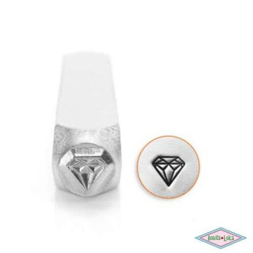 ImpressArt Slagstempel Diamant 6mm