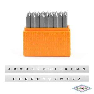 ImpressArt Sans Serif Hoofdletters 3mm