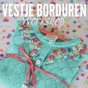 Workshop Vestje Borduren