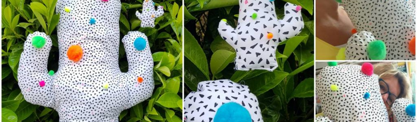 Gratis Naaipatroon Cactus Kussen En Sleutelhanger Atelier Bonita Loka