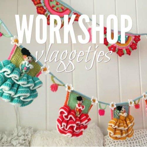 Workshop Adinda's World Vlaggetjes | Zat 1 sept 10.30 - 15.30