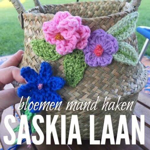 Workshop bloemenmand haken voor beginners