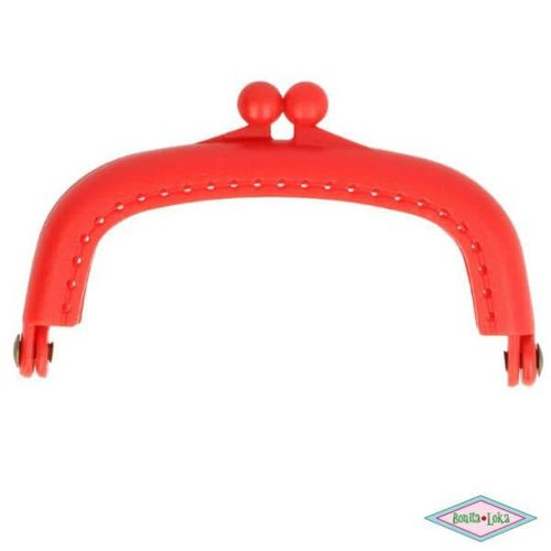 Portemoneesluiting 8,5 cm rood