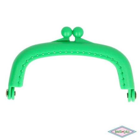Portemoneesluiting 8,5 cm groen