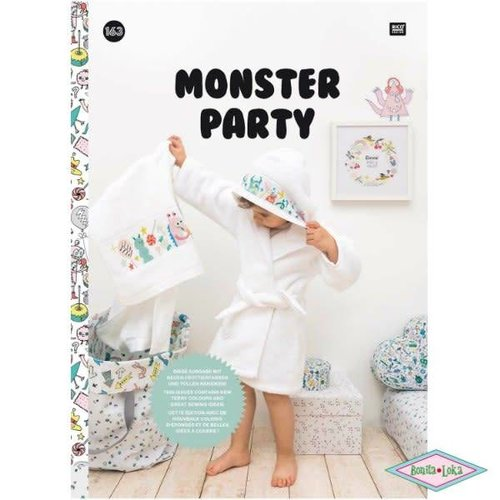 Rico Rico borduurboek Monster Party