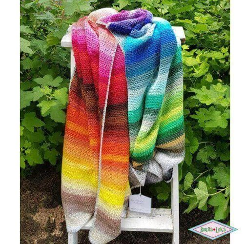 100 kleuren deken pakket